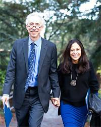 Nicholas Dirks and Janaki Bakhle