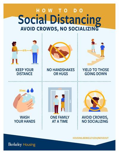 social distancing tips for move out