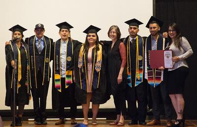 Berkeley Underground Scholars and State Senator Nancy Skinner